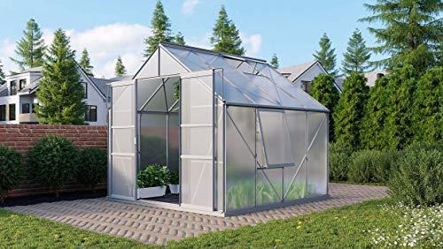 Vitavia Meridian 2 6700 HKP 4 mm Gewächshaus 2 Dachfenster 1 Seitenfenster Hobbygärtner