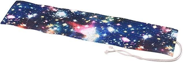 حقيبة قماشية ذات غلاف ملفوف من القماش القلم قابلة للطي 72 فتحة للفنان