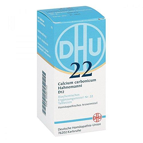 DHU Schüßler-Salz Nr. 22 Calcium carbonicum Hahnemanni D12 Tabletten, 200 St. Tabletten