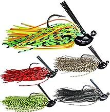 thkfish Fishing Lures Fishing Jigs Swim Jigs Fishing Jigs Bass Mix Color Metal Lead Fishing Jigs Kit Style A 1/2oz 5pcs