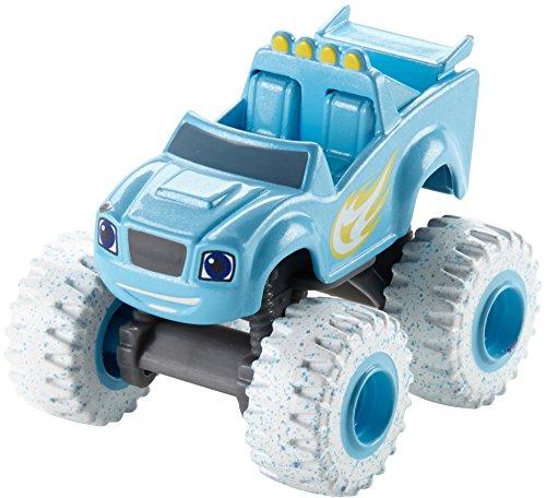 Mattel Blaze et Les Monster Machines – Véhicule de Base Artic Blaze dkv92