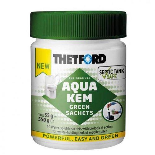 aqua-kem grün 10Stück Beutel Bio Thetford