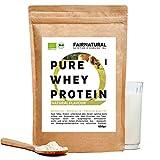 BIO Whey Proteine del siero del latte in polvere Insapore/Neutre [dalla Germania] senza soia - Frullati proteici biologiche di alta qualità I 650g di Proteina Whey Organica