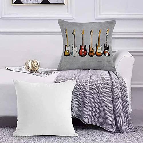 Ccstyle Funda de Cojín Funda de Almohada del Hogar Fender Stratocaster Telecaster...