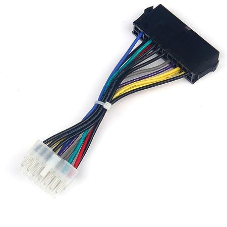 GAOHOU 24—14ピンATXケーブル電源コードコードケーブルLenovo IBM Dell H81用