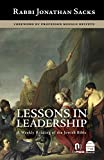 Lessons in Leadership: A Weekly Reading of the Jewish Bible - Jonathan Sacks
