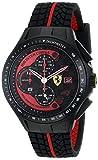 Scuderia Ferrari Homme Chronographe Quartz Montres bracelet avec bracelet en Silicone - 0830077