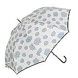 [aromaroom] 雨傘あじさい柄/ブルー