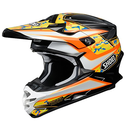 Shoei VFX-W Motocross MX Helm Enduro Trail Quad Cross Offroad TC8 XL (61-62cm)