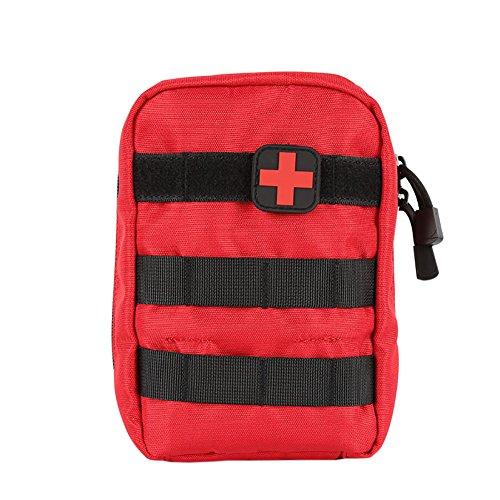 Zdmathe Molle Taktische Erste Hilfe Kit Tasche First Aid Pouch Set Tactical Medizinische Notfalltasche für Outdoor Zuhause Sport Reisen