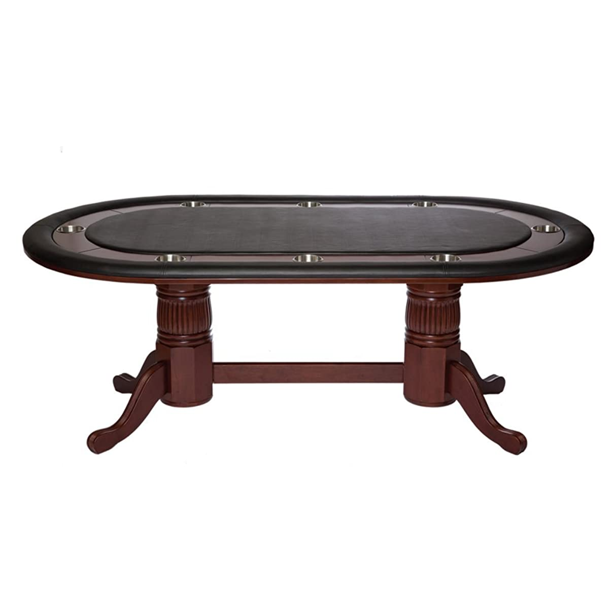 RAM Game Room 84 in. Texas Hold Em Game Table