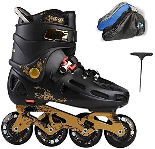 WENLI Ajustable Patines En LíNea Patines De Los Unisexo, Inline Roller Skates...
