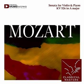 Sonata for Violin & Piano KV 526 in A major