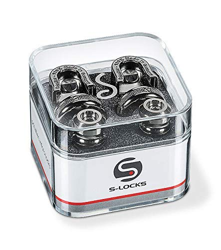Schaller Security Lock Ruthenium 449 Endpin Set
