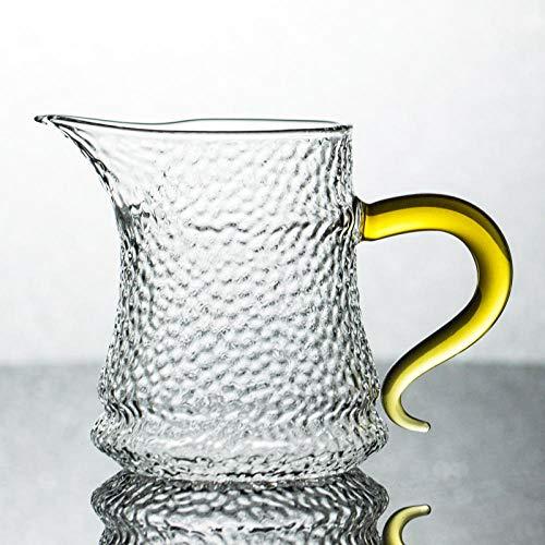 Glaseres Vasos de Cristal Resistentes al Calor, Estilo Chino, Juego de té de Kung fu, Accesorios Dorado