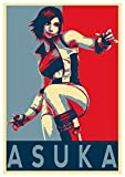General ART Posters Tekken Propaganda Asuka - A3 (42x30 cm)…