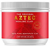 Aztec Healing Clay - 1 LB Pure Bentonite Powder - Natural Face Mask for Deep Pore Cleansing & Skin Beatification. Perfect for Skin Issue, Blackheads, Acne, Hair Hydration, Cleansing & Bath