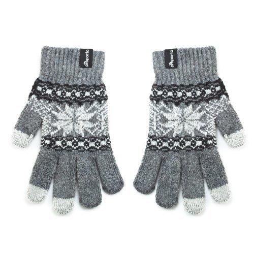 Proporta Touchscreen-Handschuhe für Kindle Fire HD, Grau/Weiß