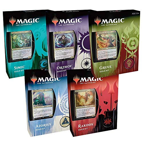 Wizards Of The Coast MTG Ravnica Allegiance Guild Kit Display (5) German Deutsch