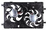 Tong Yang FAN-MZ66025A Replacement Radiator/Condenser Cooling Fan Assembly 09'- MZ Mazda 6 2.5/3.7L,W/Control Module(FAN-MZ66025A)