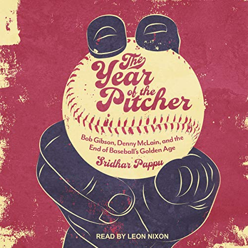 The Year of the Pitcher audiobook cover art