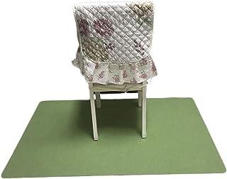JHuanic - Alfombra rectangular para silla de escritorio, alfombra de protección para muebles de oficina, sala de estar (120 x 90 cm)
