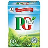 PG Tips Pyramid Bags, Premium Black Tea, 80 ct