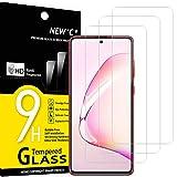 NEW'C Lot de 3, Verre Trempé Compatible avec Samsung Galaxy S10 Lite, Note 10 Lite, Film Protection...