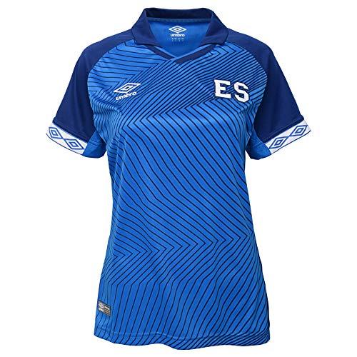 Umbro Women's El Salvador Home Jersey-Blue (M)