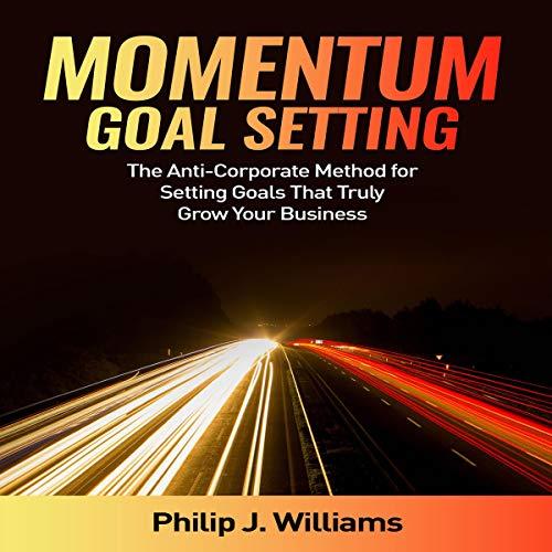 Momentum Goal Setting audiobook cover art