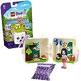 LEGO Friends Il Cubo del Dalmata di Emma, Set con Mini Bambolina, Animali Giocattoli da Collezione per Bambini di 6+ Anni, 41663