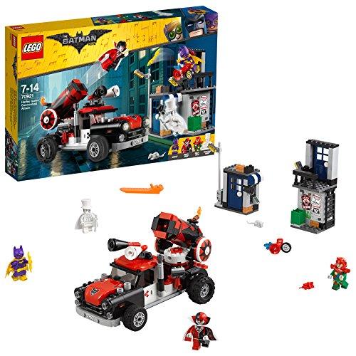 LEGO Movie Batman Attacco con Il Cannone di Harley Quinn, Multicolore, 70921