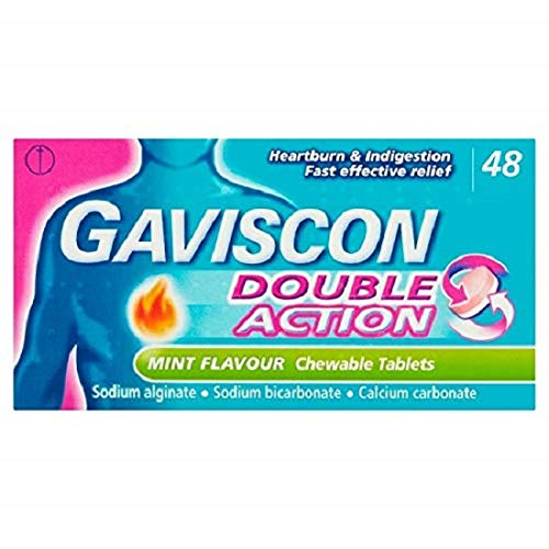 Gaviscon Double Action chewable tablets as alternative to ranitidine