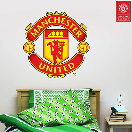 Beautiful Game Manchester United Football Club Official Crest Sticker + Man...