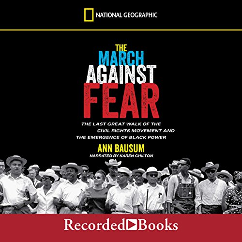 The March Against Fear audiobook cover art