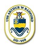 US Navy USS Arthur W. Radford DD-968 Military...