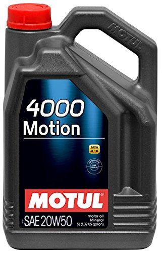 Motul 4000 MOTION 20W-50 5L