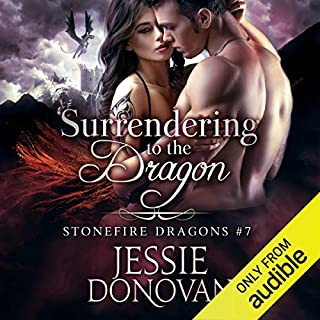 Surrendering to the Dragon     Stonefire British Dragons, Book 7              Written by:                                                                                                                                 Jessie Donovan                               Narrated by:                                                                                                                                 Matthew Lloyd Davies                      Length: 8 hrs and 21 mins     Not rated yet     Overall 0.0