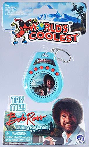 Worlds Coolest Bob Ross Talking Keychain