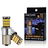 2PCS BAU15S PY21W lampadine principali auto LED per Indicatori di Direzione Ambra Gialla 6000K 12V