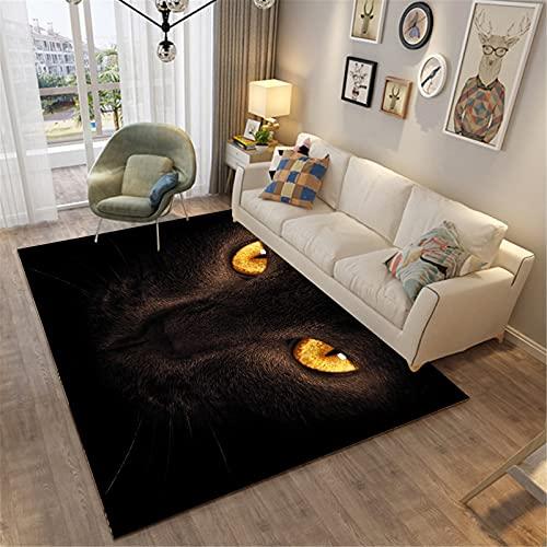 Hogar Sala De Estar Moda Simple Estilo Moderno Rectangular Alfombra Grande Dormitorio Manta De Noche 100x120cm