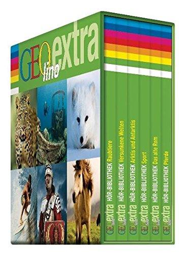 GEOlino Editions Box III: GEOlino extra Hör-Bibliothek (Die GEOlino Hör-Bibliothek - Editionsboxen, Band 3)