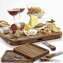 Elite Creations Exquisite Cheese Board & Utensils Gift Set Review