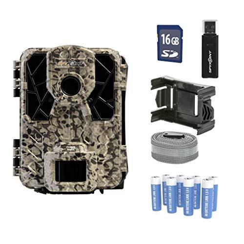 Spypoint Force-Dark Wildkamera/Tierkamera, Zeitraffer Kamera Outdoor Wildtierkamera zur Wildüberwachung / 42 No-Glow LEDs, Infrarot, klein und handlich / 12 Megapixel