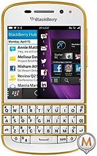 BlackBerry Q10-16GB, 4G LTE, White\Gold - Gold