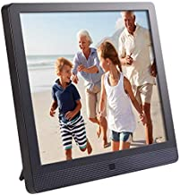 Pix-Star 10 Inch Wi-Fi Cloud Digital Picture Frame with IPS high resolution display, Email, iPhone iOS and Android app, DLNA and Motion Sensor (Black)