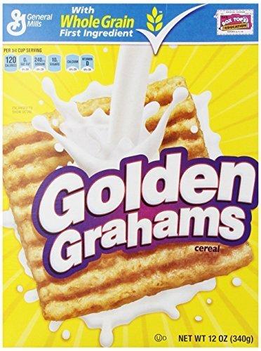 General Mills Golden Grahams Cereal, 12.0 OZ (6 Pack) by General Mills