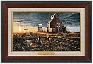 Prairie Skyline II Framed Walnut Master Stroke by Terry Redlin
