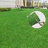 Sintético realista Césped Artificial Turf, cubierta al aire libre Balcón Jardín Decoración, agujeros de drenaje de imitación de hierba alfombra de la manta for los animales domésticos, con una malla /