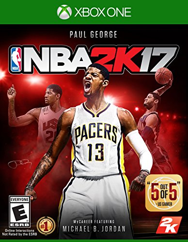Take-Two Interactive NBA 2K17 Xbox One Básico Xbox One Inglés vídeo - Juego (Xbox One, Deportes, Modo multijugador, E (para todos))
